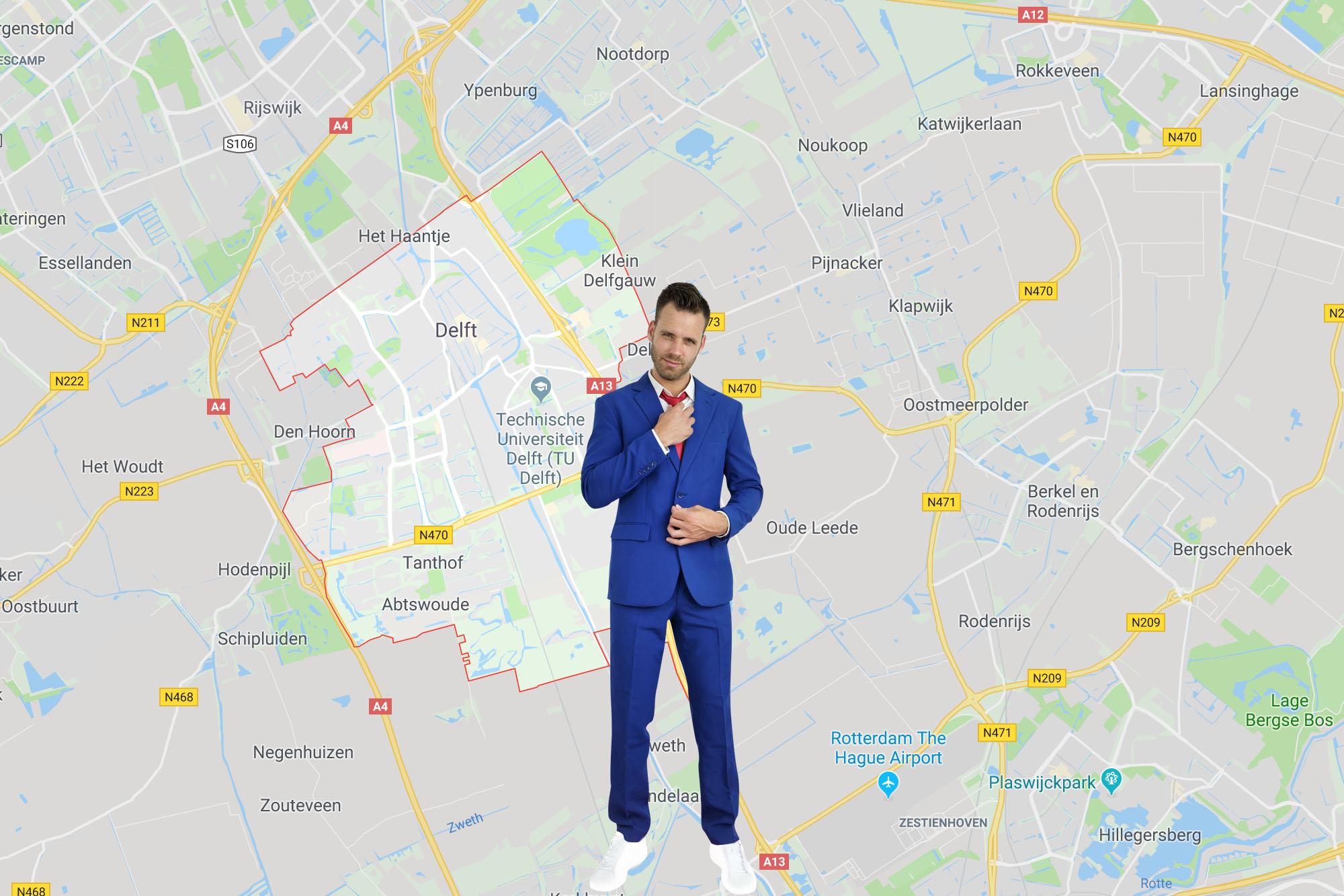 Zanger en DJ boeken Delft